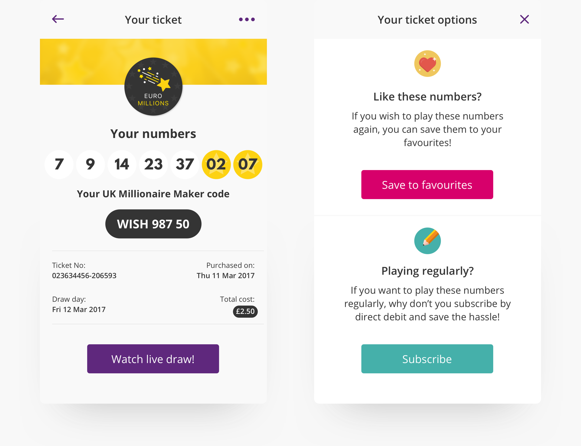 How to connect the digital and physical with your digital lottery design